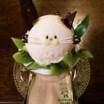 おすすめ猫スイーツ!京都の町家カフェ「ことばのはおと」のにゃんこパフェ